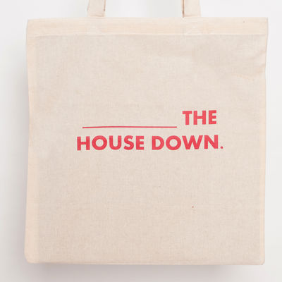 [blank] the house down tote