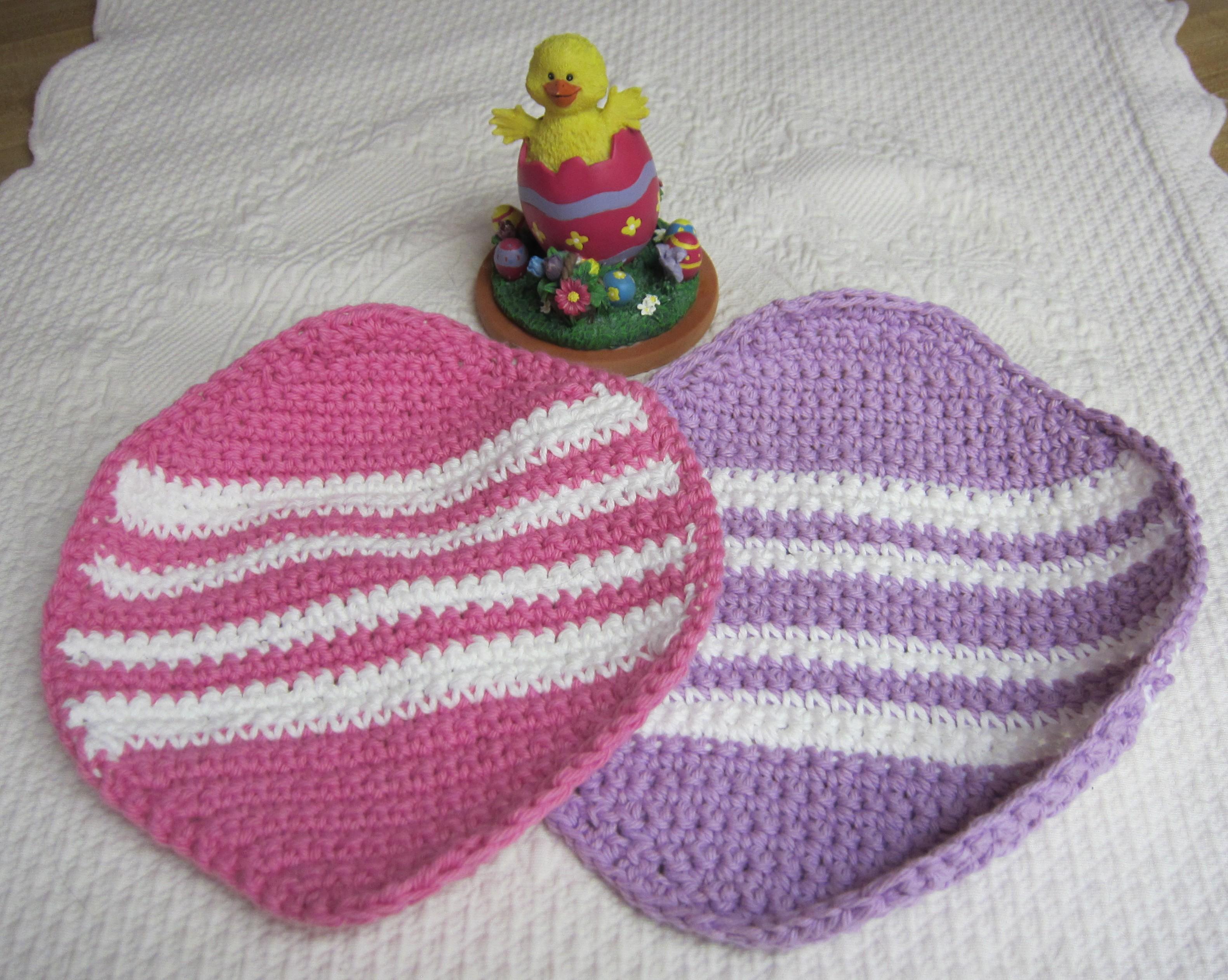 Free crochet easter dishcloth patterns manet for crochet dishclothwashclothcotton dishclothseaster egg bankloansurffo Gallery