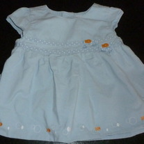 Blue Dress with Goldfish-Gymboree Size 18-24 Months