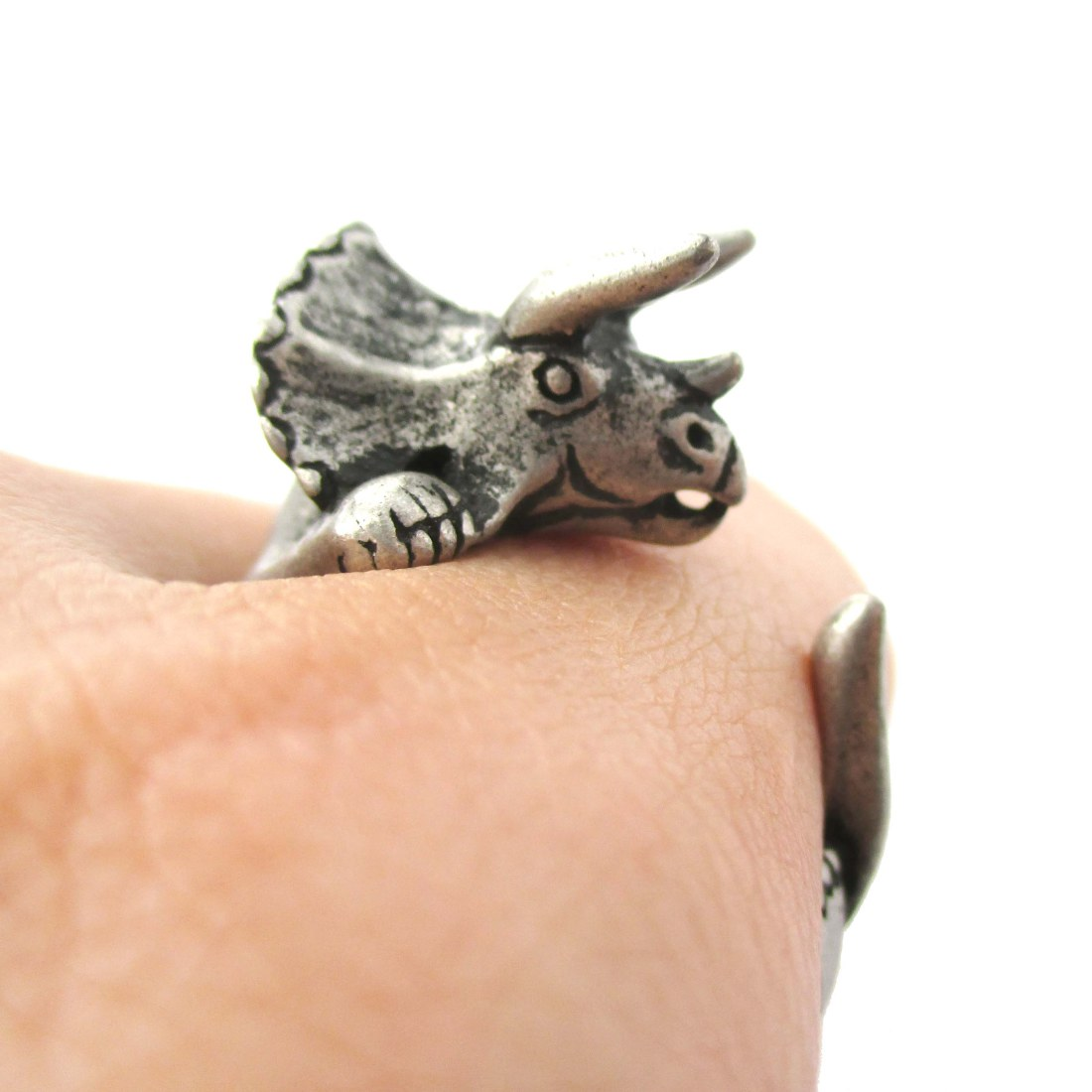 rings wedding opal pin dinosaur white and bone ring meteorite