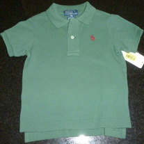 Green Polo Shirt-NEW-Polo Ralph Lauren Size 18 Months