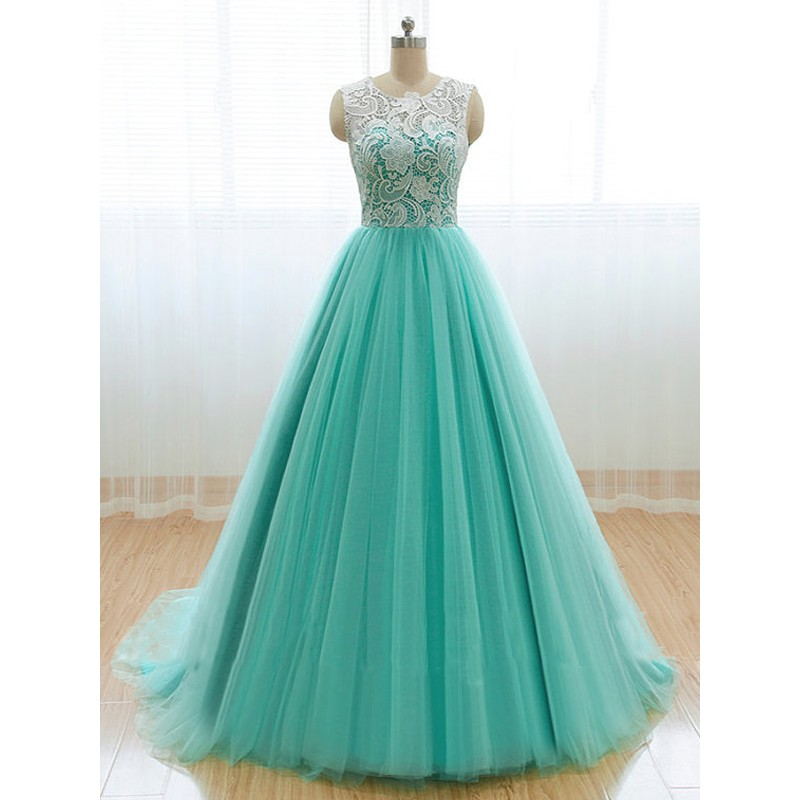 Prom Dresses in Mint