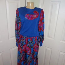 Vintage Blue, Pink and Purple Set Size M!!