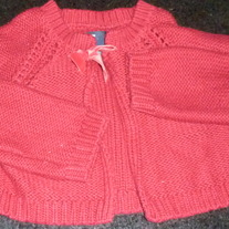 Red Sweater-Baby Gap Size 5T