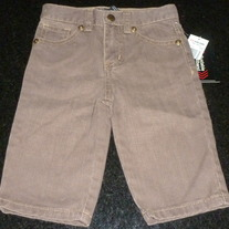 Brown Jeans-NEW-ecko unltd Size 6 Months