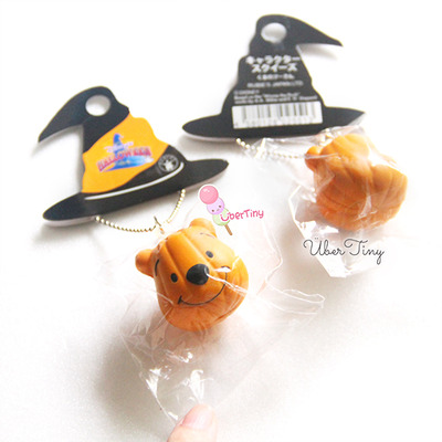 Squishy Rare Collection : Rare* Pooh Pumpkin Squishy (licensed) ? Uber Tiny ? Online Store Powered by Storenvy