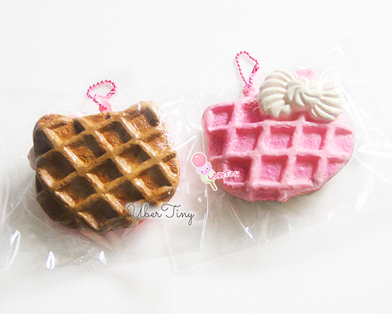 Cracking Squishy Collection : Cracking Choc + Pooh + Pink Waffle Squishy Grab Bag ? Uber Tiny ? Online Store Powered by Storenvy