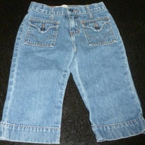 Denim Capris-Gap Size 5