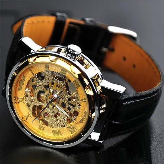 stan vintage watches men s watch vintage watch handmade men s watch vintage watch handmade watch leather watch chain hollow out mechanical