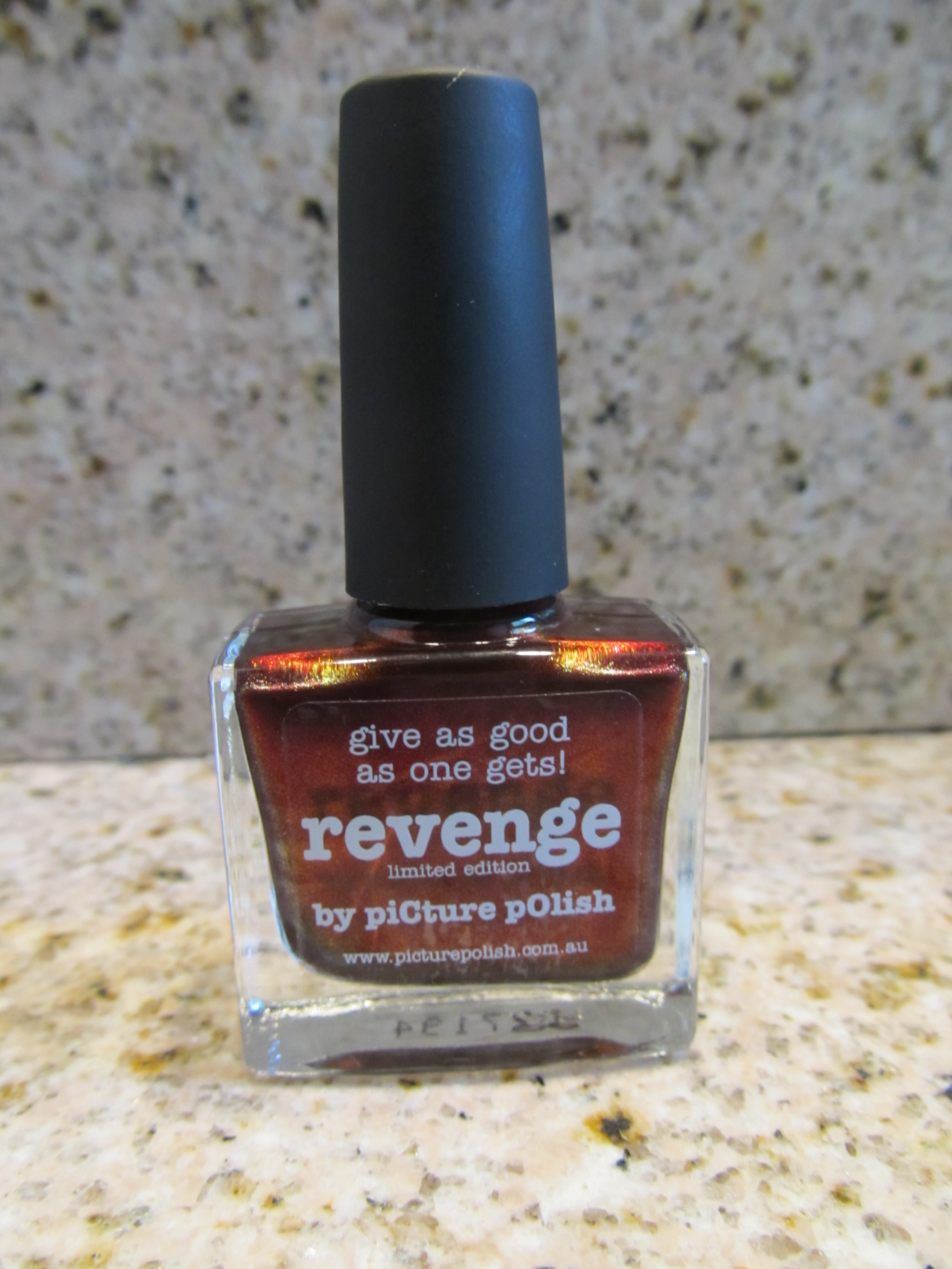 Picture Polish Revenge LE Vampy Red Multichrome · BuyMyPolish ...