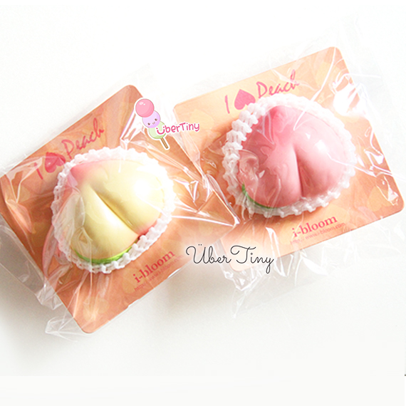 Rare iBloom Peach Jumbo squishy (scented!) ? Uber Tiny ? Online Store Powered by Storenvy