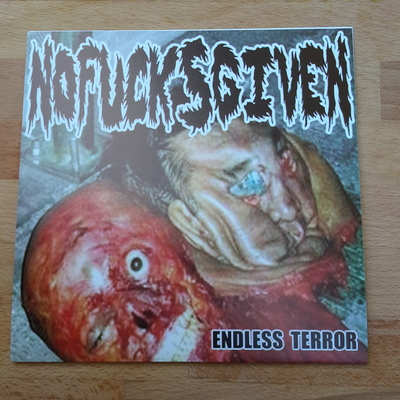 "No fucks given ""endless terror"" 7"""