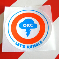 Let's Rumble Sticker