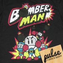 Bomber Man Black Unisex T-Shirt