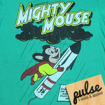 Mighty Mouse Green Unisex T-Shirt