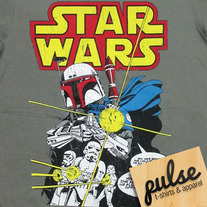 Starwars Gray Unisex T-Shirt
