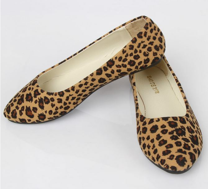 Leopard Print Suede Flat Shoes U00b7 Daisy Dress For Less U00b7 Online Store Powered By Storenvy