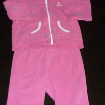 Pink Jacket with Matching Pants-Baby Gap Size 6-12 Months  GS413