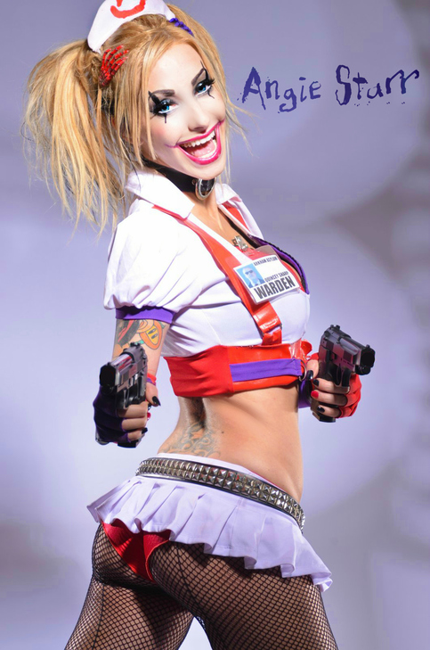 Harley Quinn - 2 · Angie Starr · Online Store Powered by Storenvy: angiestarr.storenvy.com/products/13086117-harley-quinn-2