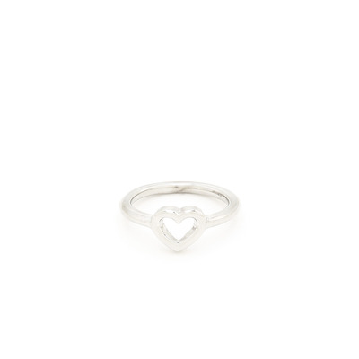 Little love accent ring - silver