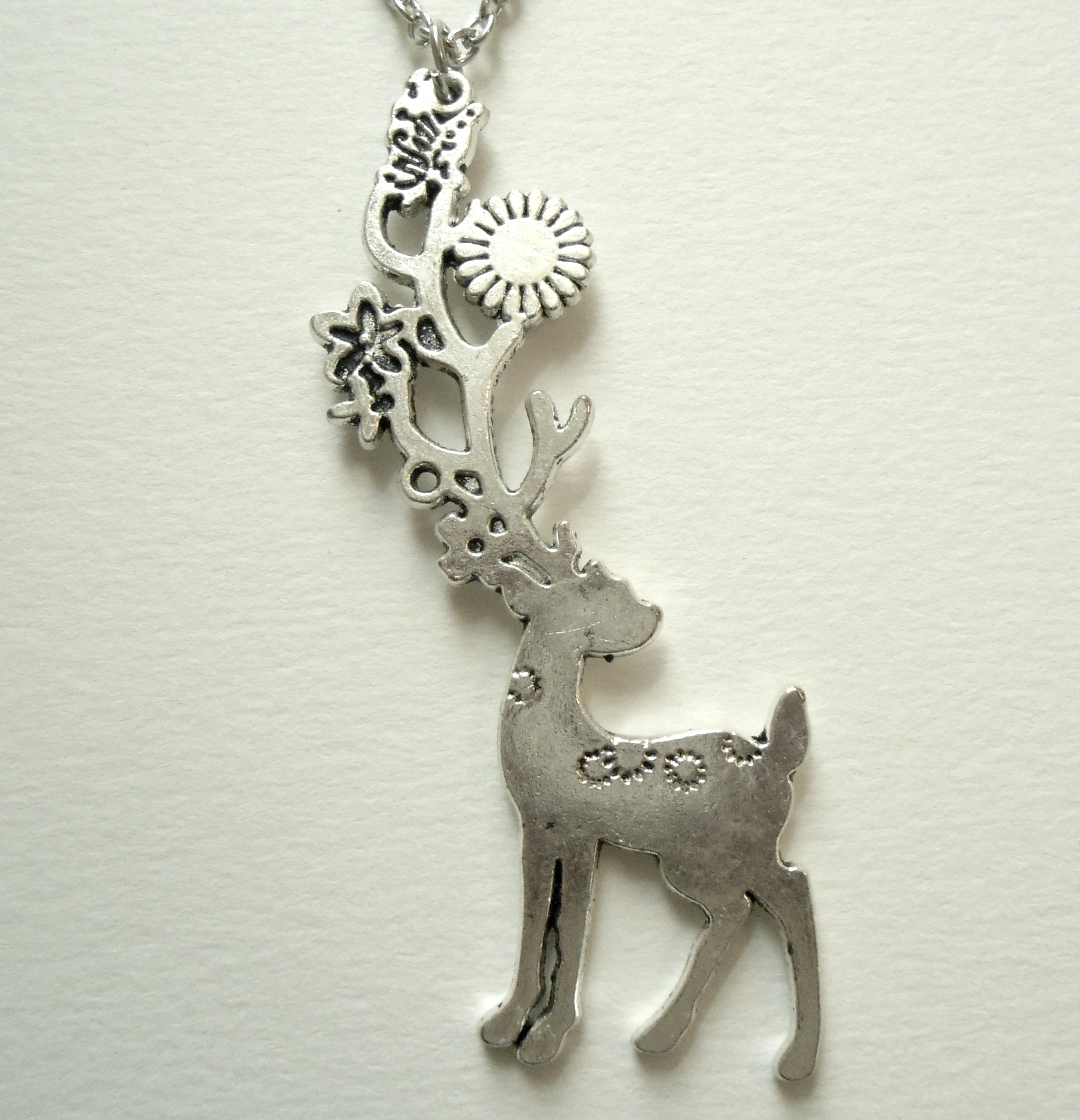 necklace jewelry il nature listing charm zoom deer wildlife animal pendant elk fullxfull