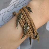 Tan Braided Bracelet