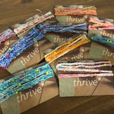 Thrive wrap bracelet