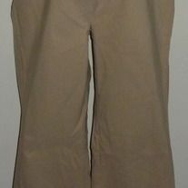 Khaki Dress Pants-Duo Maternity Size Small  CL413