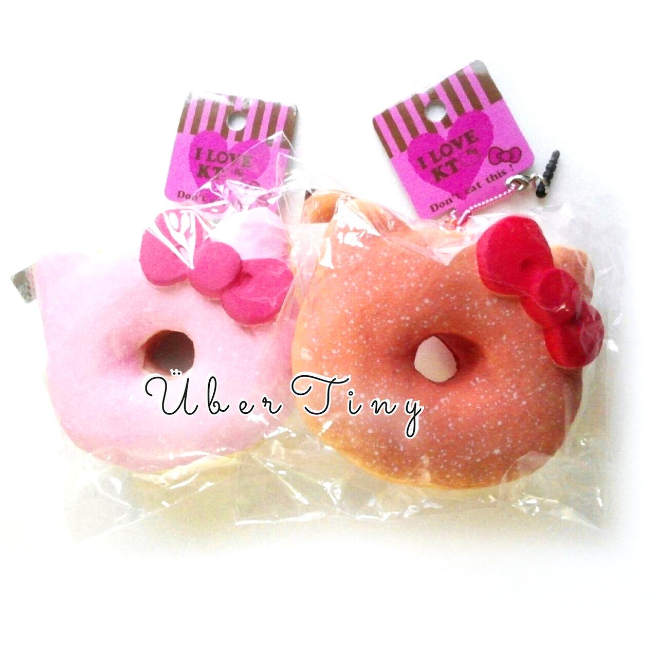 Squishy Licensed Jumbo : Hello Kitty Powdered Donut Squishy Jumbo (Licensed) ? Uber Tiny ? Online Store Powered by Storenvy