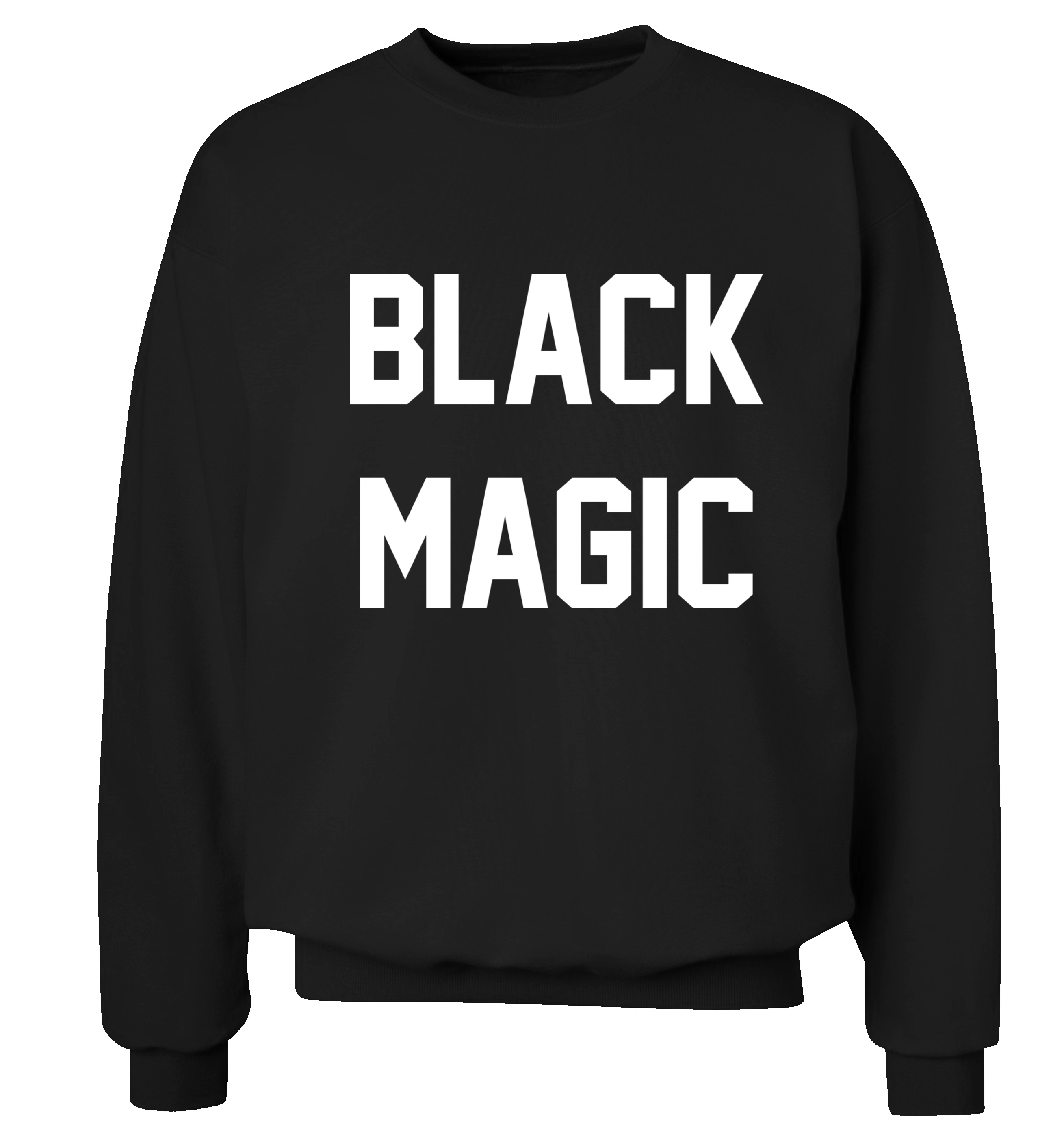 Black Magic Jumper White Hipster Tumblr Instagram Weheartit Music Lyrics Pop Little Mixer Jesy Witch Halloween