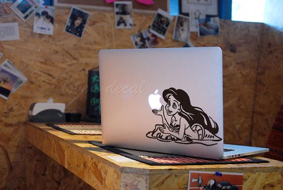 Tloveskin Mermaid PrincessDecal For Macbook Pro Air Or Ipad - Macbook air decals