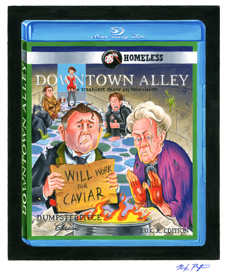 4 Terrible TV - Downtown Alley Final Art - Wacky Packages 2014 ...