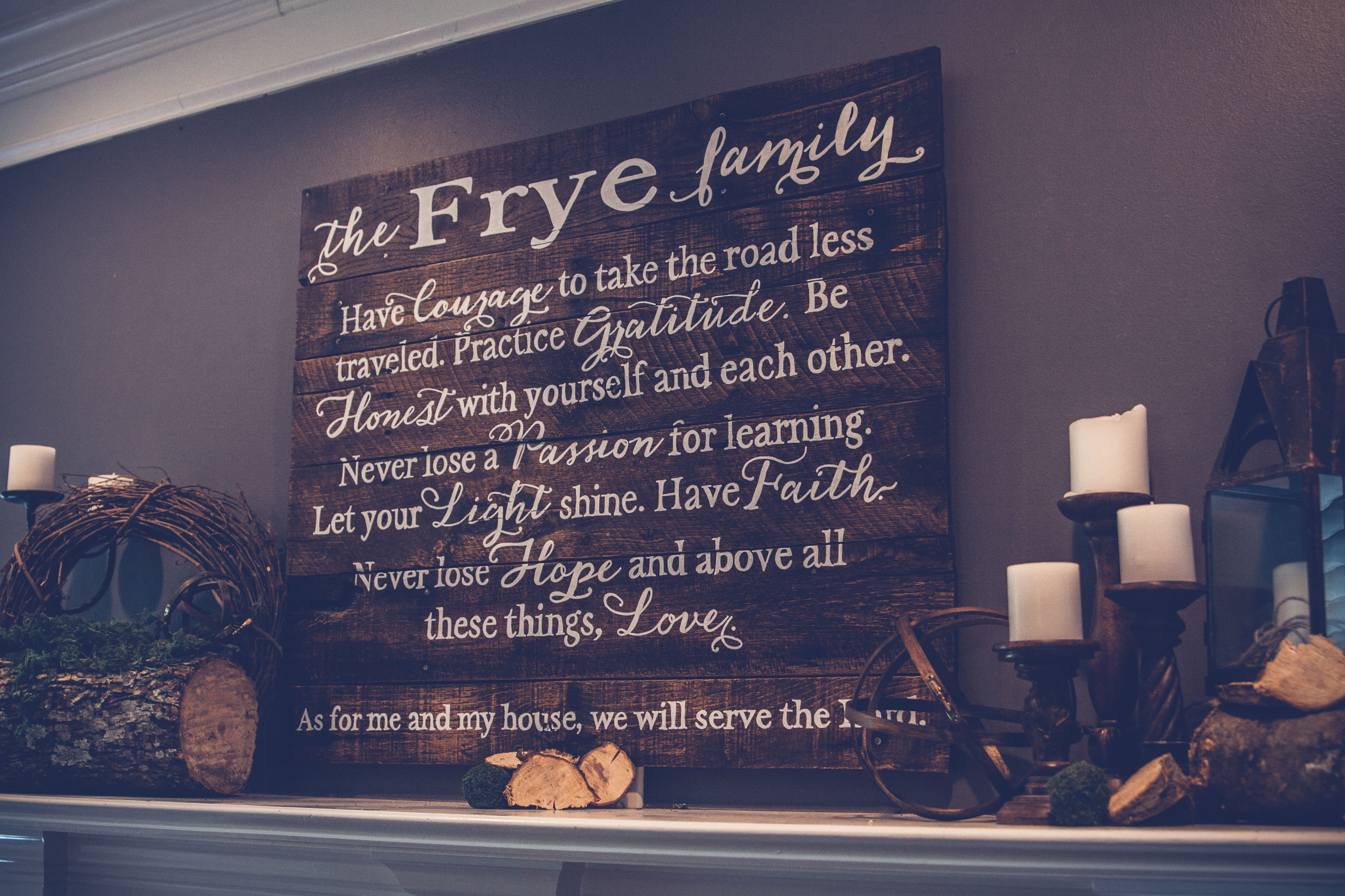 large family mission statement sign frye design lfmsfdx large family mission statement sign frye design lfmsfd36x24 thumbnail 2