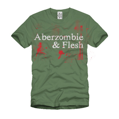 Aberzombie & flesh (t-shirt green)