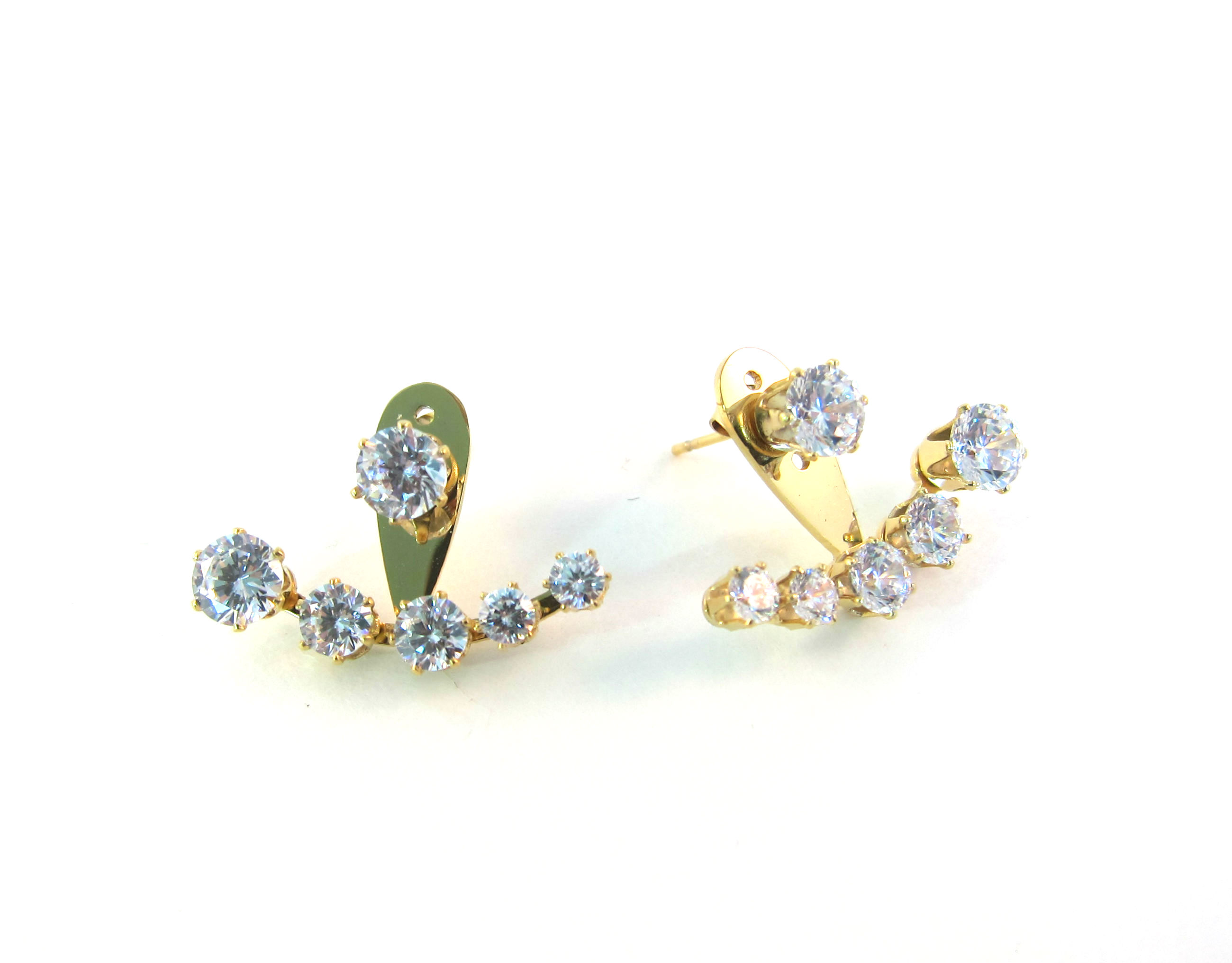 gold zirconia ksvhs jacket k crescent crystal c cubic ear jewellery plated beautiful earrings