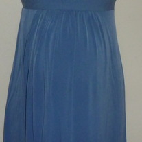 Blue Sleeveless Dress-Motherhood Maternity Size Small GS513
