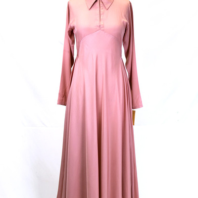Pink zaytuna dress