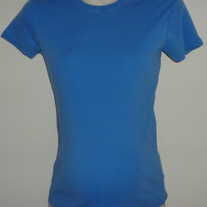 Blue Short Sleeve Shirt-Motherhood Maternity Size Medium  GS513