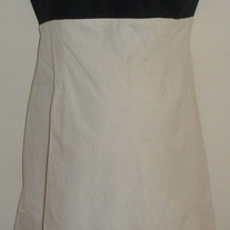 Light Tan/Black Sleeveless Dress-Motherhood Maternity Size Medium  GS513