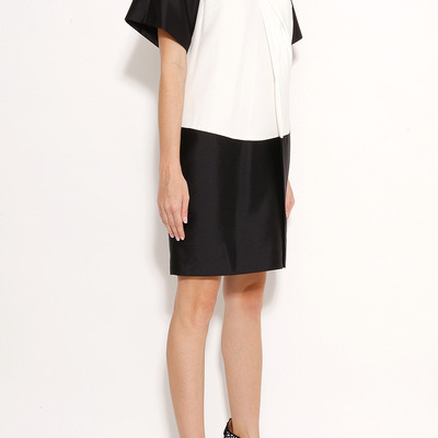 Alexander wang twist drape neck dress