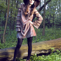 Hippie Bell-Sleeved Dress