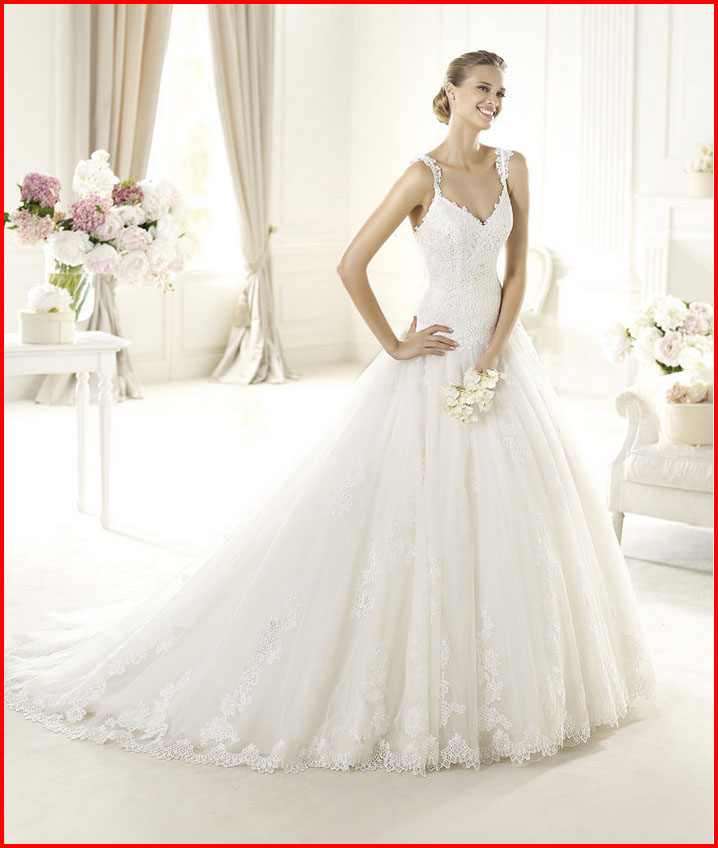 YZ New Design A-line Elegant Grace Satin Custom Made elie saab Bride ...