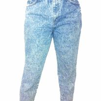 Women's Chic Stonewashed Jeans