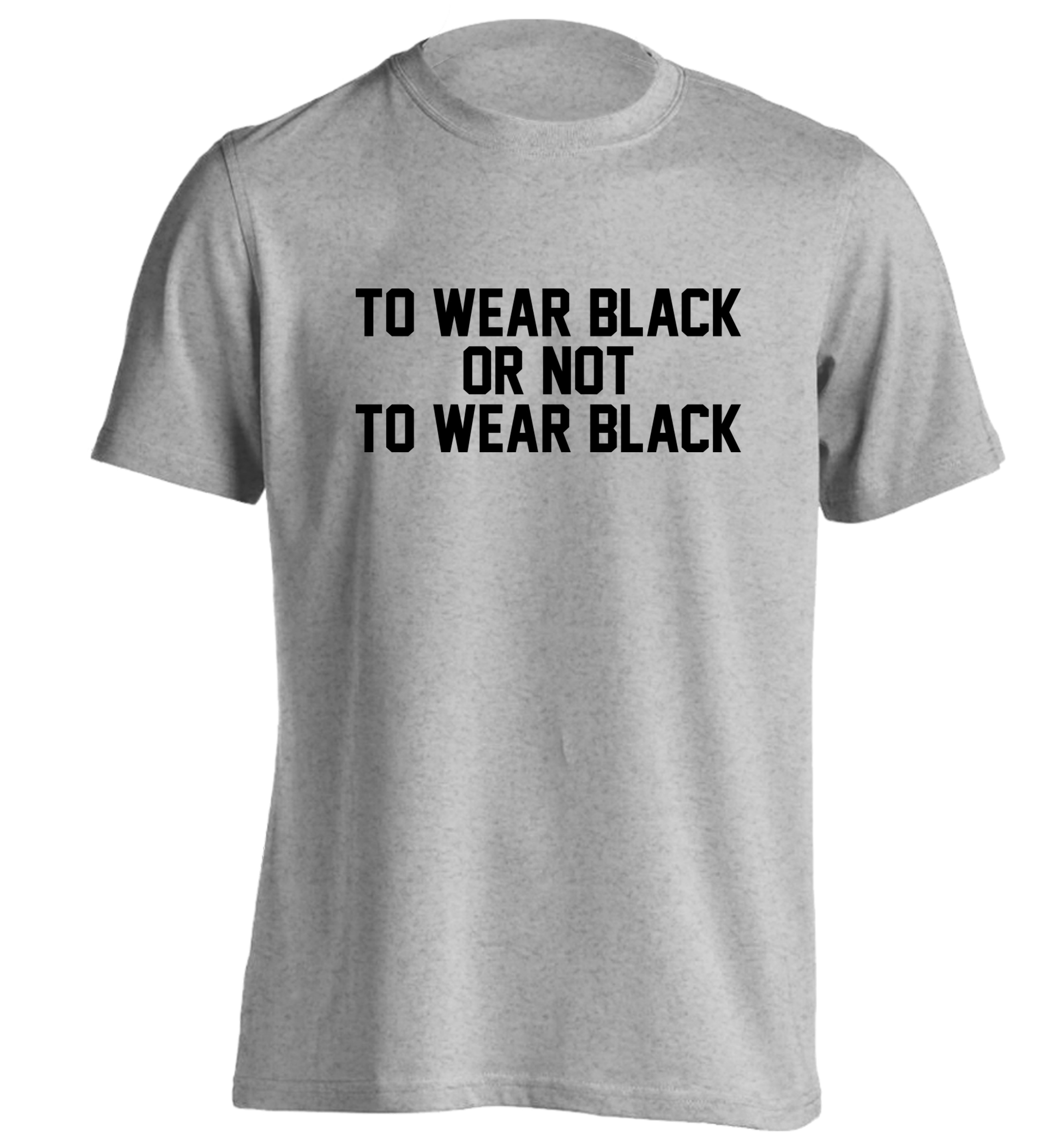 Black t shirt grunge -  To Wear Black Or Not To Wear Black T Shirt Grunge Tumblr Instagram Hipster Slogan Funny
