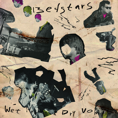 "Bedstars ""wet hearts & dry vomit"" lp"