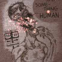 Say Something Human Tee
