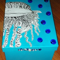 "Under the Sea ""Squid"" Box (One of a Kind)"