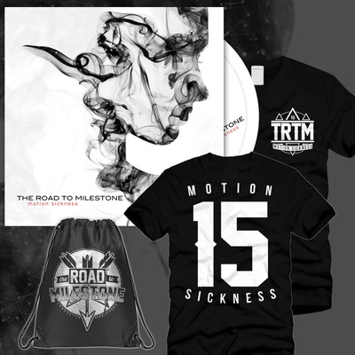 The road to milestone - motion sickness jersey & bag bundle
