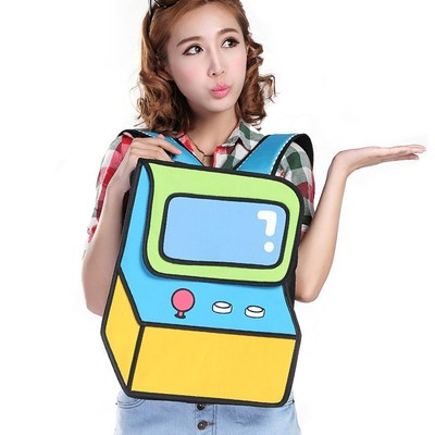 Bolso cartoon 3d bag wh310