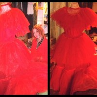 Faeryspell Creations | Child Size Beetlejuice Red Wedding Gown ...